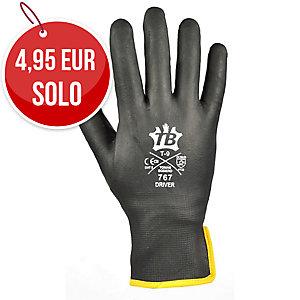 Par de guantes TOMAS BODERO 767 Driver nitrilo color negro Talla 7