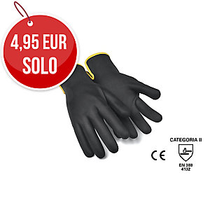 Par de guantes TOMAS BODERO 767 Driver nitrilo color negro Talla 10