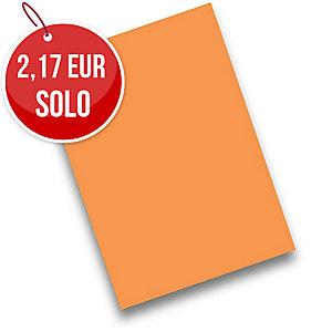 Pack de 50 cartulinas FABRISA A4 180g/m2 color naranja