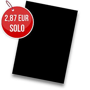 Pack de 50 cartulinas FABRISA A4 180g/m2 color negro