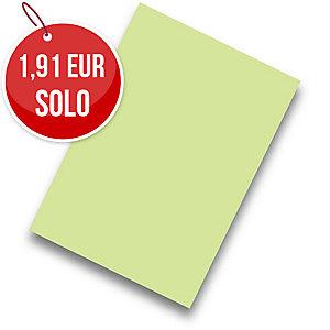 Pack de 50 cartulinas FABRISA A4 180g/m2 color verde claro