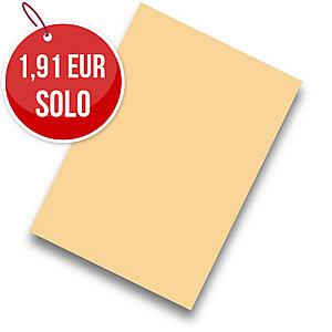 Pack de 50 cartulinas FABRISA A4 180g/m2 color crema