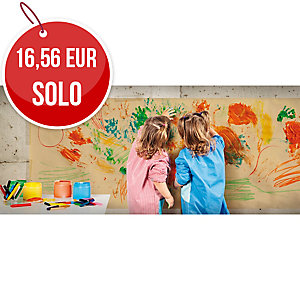 Rollo de papel kraft extra verjurado 65 g/m2 1x50m amarillo