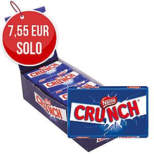Pack de 15 barritas de chocolate con leche y arroz crujiente NESTLE CRUNCH 40g