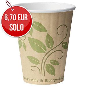 Pack de 40 vasos de café. Dimensiones 81 x 96 x 50 mm