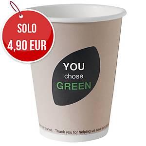 Bicchieri in fibra biodegradabile Eco Echo Duni 12 cl - conf. 45