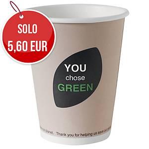 Bicchieri in fibra biodegradabile Eco Echo Duni 24 cl - conf. 40