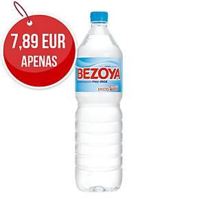 Pack de 12 garrafas de água Bezoya - 1,5 L