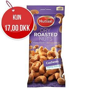 Nødder Nutisal Cashew, saltet, 60 g
