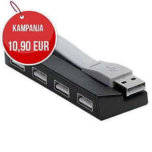 Targus USB 2.0 -hubi 4-porttinen