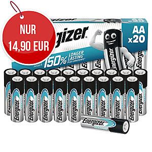 Energizer Alkaline Batterien MAX PLUS, 20 x AA
