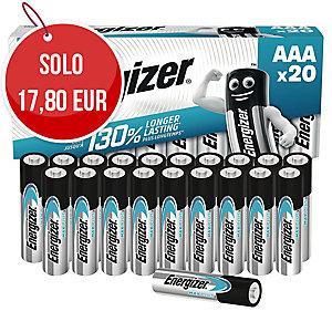 Batterie alcaline Max Plus Energizer AAA/ministilo - conf. 20
