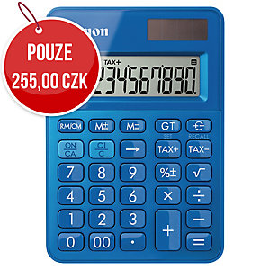 Canon LS -100K, kapesní kalkulačka, modrá