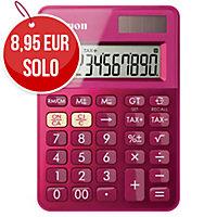 Calculadora de bolsillo CANON LS-100K de 10 dígitos color rosa