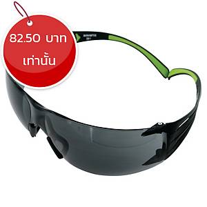 3M แว่นตานิรภัย SECURE FIT SF402AF สีเทา