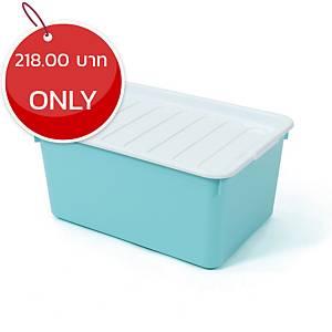 2056 Plastic Storage Box 20 Litres Assorted Opaque Colours