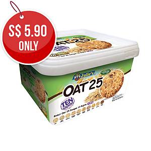 Julie s Oat25 Ten Grains Biscuits - Box of 18
