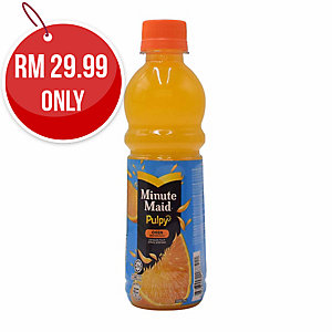 MINUTE MAID PULPY ORANGE 30ML - BOX OF 12