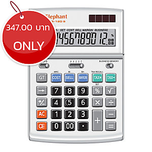 ELEPHANT M03-12D DESKTOP CALCULATOR 12 DIGITS