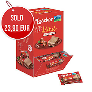 BUSTE WAFER MINIS LOACKER - CONF.50