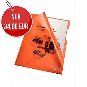 Bene Sichthüllen, A4, 150 μm, 100 Stk, orange