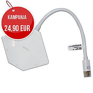 Mini DisplayPort HDMI + DVI + VGA adapteri