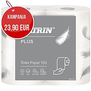 Katrin plus toilet 150 wc-paperi, myyntierä 1 kpl = 40 rullaa
