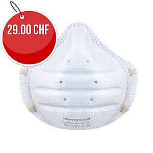 Respirateur Honeywell 3205, type FFP2, s. valve d expiration, paquet de 30 un.