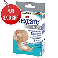 Nexcare Textil Heftpflaster, zum zuschneiden, 6 cmx1 m, braun