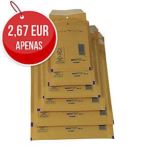 Pack de 10 bolsas com borbulha AROFOL 150x215mm cor kraft nº 13