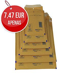 Pack de 10 bolsas com borbulha AROFOL 445x300mm cor kraft nº 19