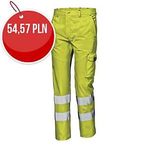 Spodnie ostrzegawcze SIR SAFETY SYSTEM Mistral, żółte, rozmiar 52