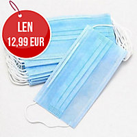 Respirátor skladací textil/PP FFP2, 20 kusov v balení