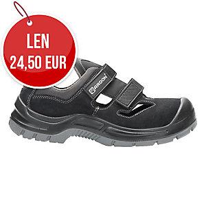 Bezpečnostné sandále ARDON® GEARSAN, S1 SRC, veľkosť 46, čierne