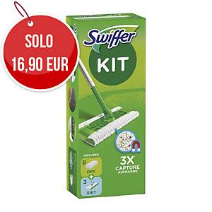 Kit Swiffer per pulizia a secco dei pavimenti