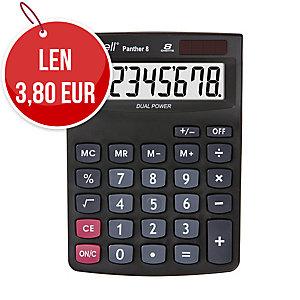Stolová kalkulačka Rebell Panther 8-miestna, 143 x 102 x 29 mm
