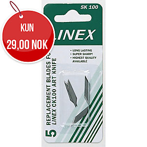 SKJÆREBLAD LINEX SK100 PAKKE À 5 STK