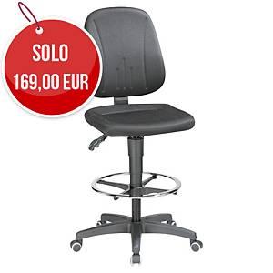 Sedia tavolo da disegno Prosedia 9651 meccanismo sincrono nero
