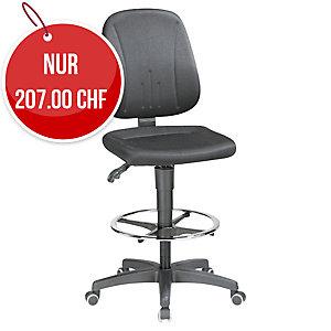 Arbeitsdrehstuhl Prosedia 9651, schwarz