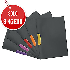 CARTELLINE CON CLIP DURASWING DURABLE COLORI ASSORTITI CONF. 5