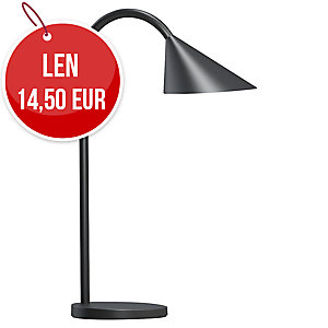 Stolová LED lampa Unilux Sol, čierna