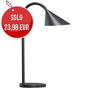 Lampada da tavolo led Unilux Sol nero