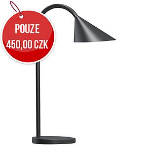 Stolní LED lampa Unilux Sol, černá