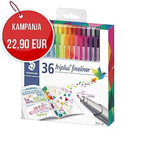 Staedtler 334 kuitukärkikynä 0,3 värilajitelma, myyntierä 1 kpl =36 kynää