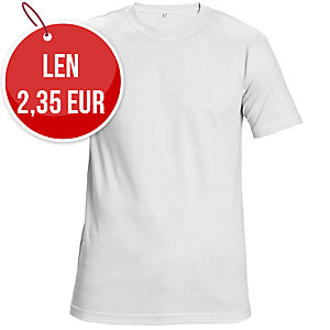 Tričko ČERVA TEESTA, veľkosť M, biele