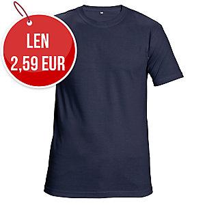 Tričko ČERVA TEESTA, veľkosť XL, námornícka modrá