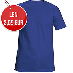 Tričko ČERVA TEESTA, veľkosť M, kráľovská modrá