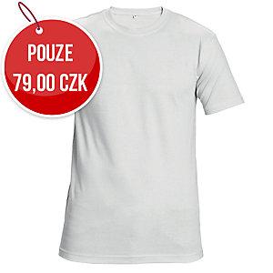 Tričko s krátkym rukávem ČERVA GARAI, velikost 2XL, bílé