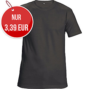 Unisex T-Shirt kurzarm, Baumwolle, Größe M, schwarz