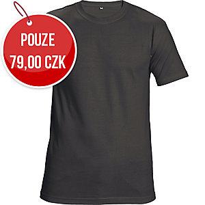 Tričko s krátkym rukávem ČERVA GARAI, velikost M, černé